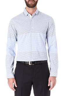 HUGO BOSS Braku checked shirt