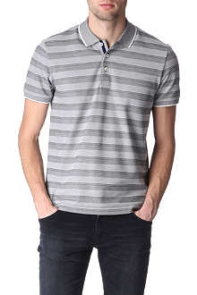HUGO BOSS Bugnara striped polo shirt