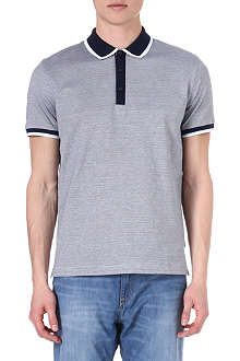 HUGO BOSS Bugnara mercerised polo shirt