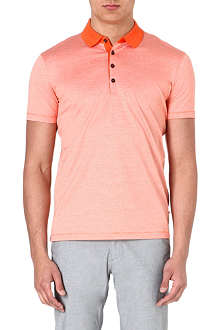 HUGO BOSS Cotton polo shirt