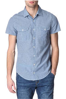 HUGO BOSS Cotton-blend shirt