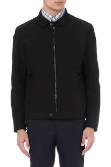 HUGO BOSS Zipped collar jacket