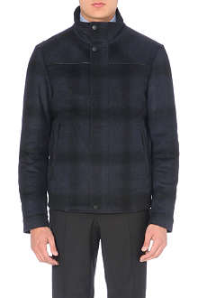 HUGO BOSS Shadow checked jacket