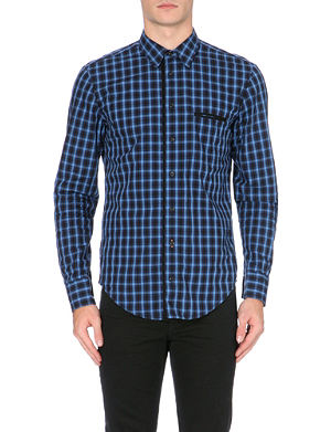 HUGO BOSS Cielo gingham cotton shirt