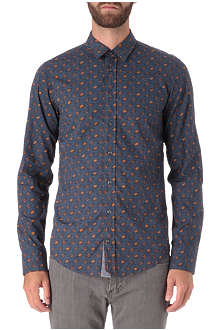 HUGO BOSS Planet print shirt