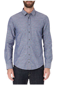 HUGO BOSS Cliff embroidered shirt