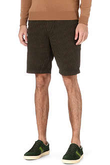HUGO BOSS Clyde checked shorts