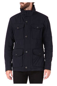 HUGO BOSS City hooded jacket