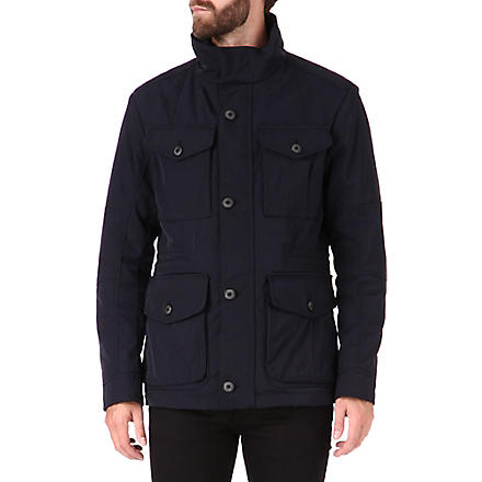 HUGO BOSS City hooded jacket (Navy