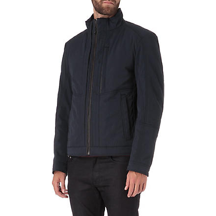 HUGO BOSS Zip pocket jacket (Navy