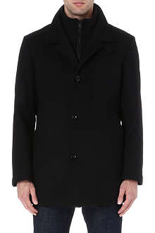 HUGO BOSS Wool-blend coat