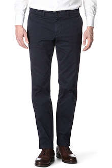 HUGO BOSS Crigan 2D tapered-leg gabardine jeans