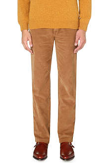 HUGO BOSS Crigan regular-fit tapered corduroy trousers