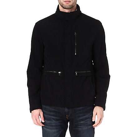 HUGO BOSS Cropa coat (Black