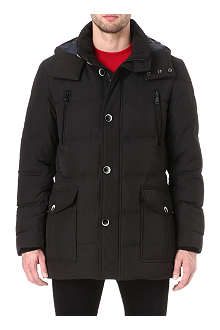 HUGO BOSS Deave detachable-hood jacket