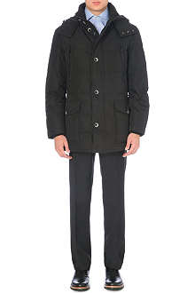 HUGO BOSS Quilted long coat