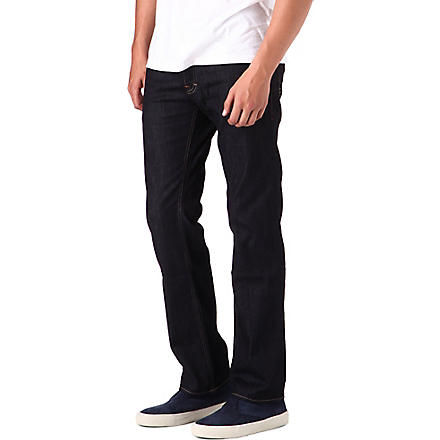 HUGO BOSS Straight clean jeans (Indigo