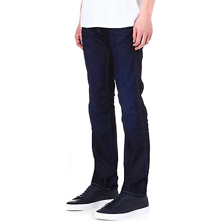 HUGO BOSS Delaware slim-fit tapered jeans (Indigo
