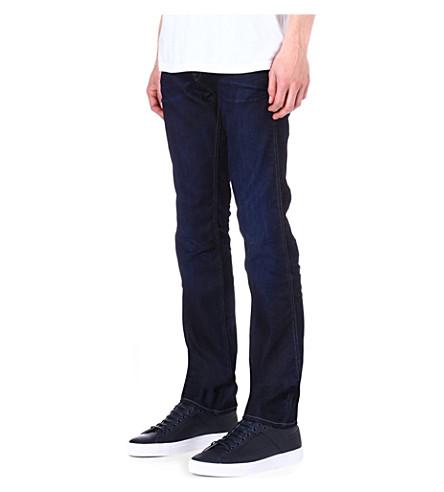 HUGO BOSS Delaware slim-fit tapered jeans (Indigo