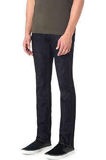 HUGO BOSS Slim-fit resin finish jeans