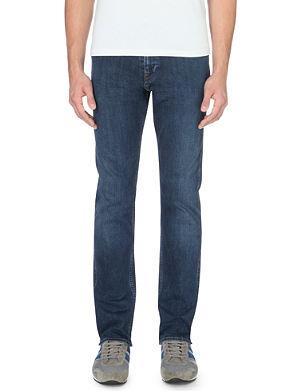 HUGO BOSS Delaware slim-fit tapered jeans