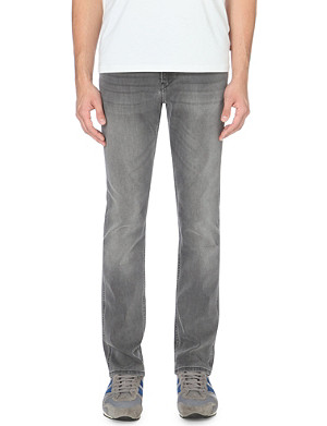 HUGO BOSS Delaware slim-fit tapered jeans