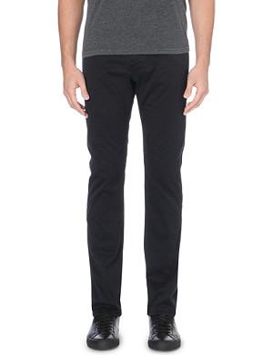 HUGO BOSS Delaware slim-fit tapered trousers