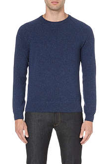 HUGO BOSS Della Torre speckled jumper