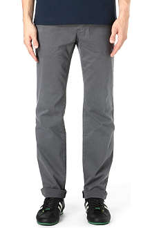 HUGO BOSS Five-pocket cotton trousers