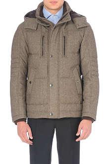 HUGO BOSS Quilted wool coat