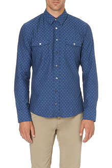 HUGO BOSS EdaslimE embroidered-detail shirt