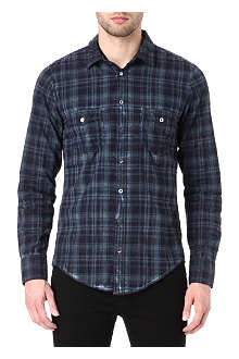 HUGO BOSS Eddaie checked shirt