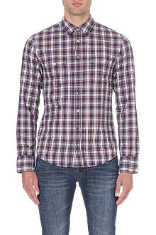 HUGO BOSS EdeaslimE plaid shirt