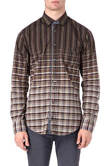 HUGO BOSS Eslime check shirt