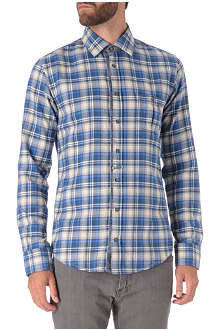 HUGO BOSS Flannel check shirt