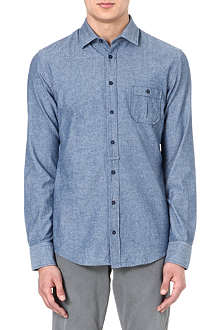 HUGO BOSS EslimE chambray shirt