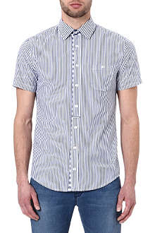 HUGO BOSS Striped short-sleeved shirt