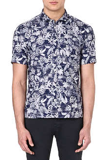 HUGO BOSS Hawaiian shirt
