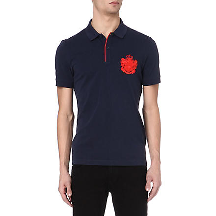HUGO BOSS Firenze heritage logo polo shirt (Red
