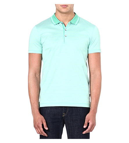 HUGO BOSS Firenze cotton polo shirt (Green