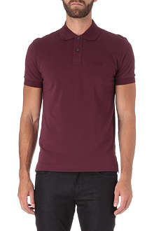 HUGO BOSS Pique-cotton polo shirt