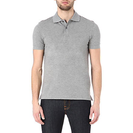 HUGO BOSS Firenze regular-fit polo shirt (Grey