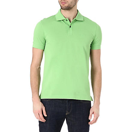 HUGO BOSS Firenze regular-fit polo shirt (Green