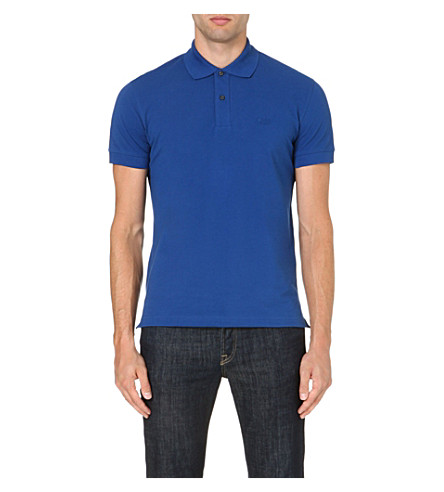 HUGO BOSS Firenze cotton polo shirt (Blue