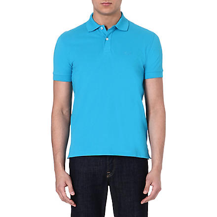 HUGO BOSS Firenze cotton polo shirt (Turquoise
