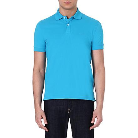 HUGO BOSS Firenze cotton polo shirt (Turquoise