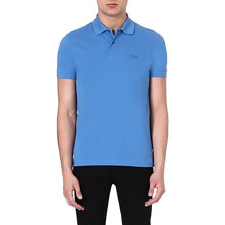 HUGO BOSS Firenze cotton polo shirt (Blue