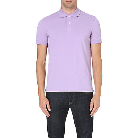 HUGO BOSS Firenze cotton polo shirt (Lilac