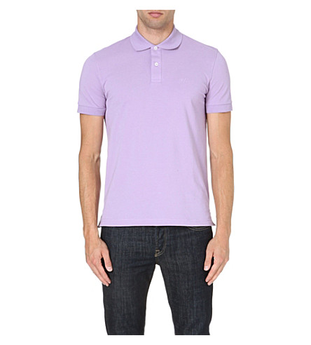HUGO BOSS Firenze cotton polo shirt (Lilac