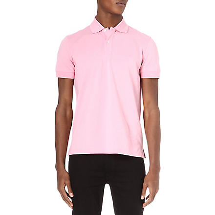 HUGO BOSS Firenze regular-fit polo shirt (Pink